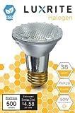 Luxrite LR20613 (4-Pack) 38PAR20/120V 38-Watt Eco Halogen Par20 Light Bulb, ...