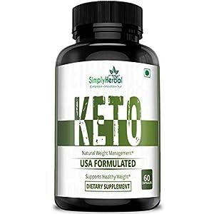 Simply Herbal Keto Capsules for Weight Loss Natural & Advanced Fat Burner Supplement 800 MG, 60 Capsules, Green Tea…