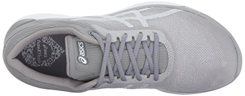 ASICS Womens FuzeX Rush Running Shoe White/Silver/Mid Grey tkaWUg