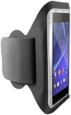 Ksix BXFBR02 - Funda brazalete deportivo para smartphone XXL, negro: Amazon.es: Electrónica