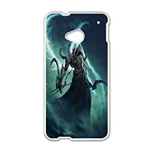 Diablo HTC One M7 Cell Phone Case White Customize Toy zhm004-3881002