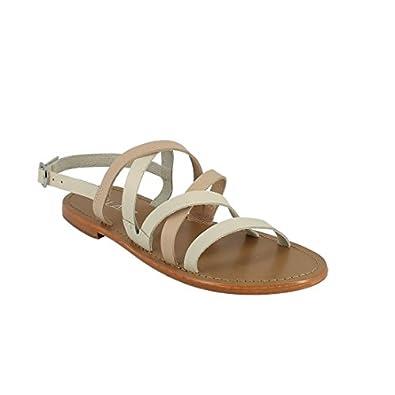 Calank Tongs / Sandales  Cyrine Noir - Chaussures Sandale Femme