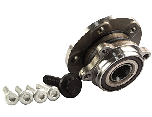 Bapmic 1T0498621 Front Wheel Hubs and Bearing Assembly for Volkswagen Audi ( Pack of 2 ) by Bapmic (Image #1)