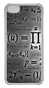 Apple iPhone 5C Case & Cover - Math PC Plastics Case Back Cover for iPhone 5C Transparent