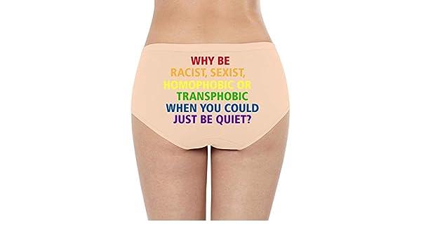 weerdoes I Poop rainbowWomensBikini PantySuper Soft Cotton Stretch Quick DryBreathablePanties Hipster