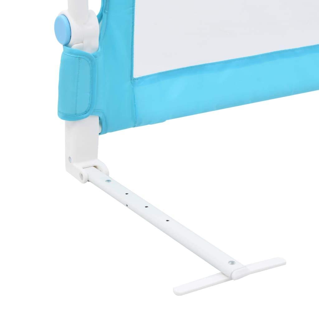 SOULONG Barrera de Cama Barrera de Seguridad Infantil para la Cama Dimenciones Azul 180x42