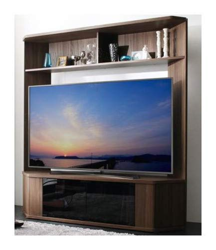ウォルナットブラウン 大型テレビ65V型まで対応 ハイタイプテレビボード XX ダブルエックス【品】 B07KJLJGRY