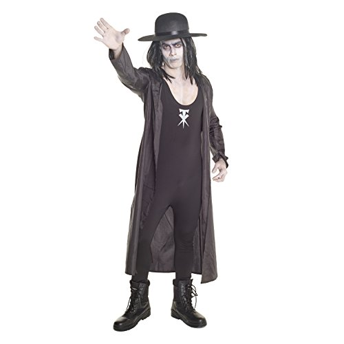 Mens Undertaker Wrestler WWE Fancy Dress Costume -