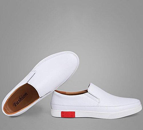 Amazon.com: GLSHI 2018 New Small White Shoes Mens Casual Shoes Leather Outdoor Exercise Sneakers Loafers Shoes Deck Shoe: Sports & Outdoors
