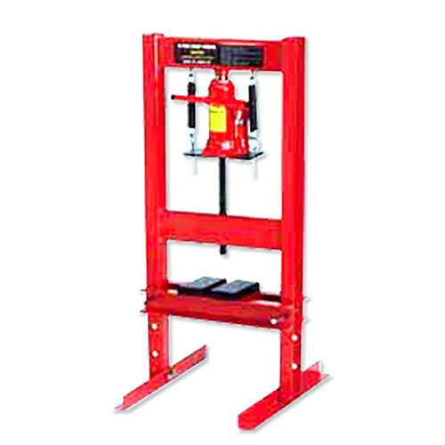 Te echo de menos 20 Ton Hydraulic Floor Standing Shop Press Heavy Duty Open Front and Rear Design from Te echo de menos
