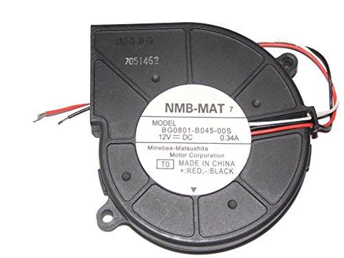 Sunfire T2000 541-0645 Server Rear Fan,BG0801-B045-00S 12V 0.34A 3Wire Cooling Fan