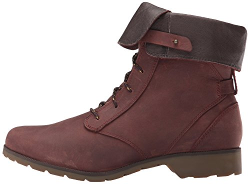 Lace Abwn Women's Brown Delavina Boot adobe Leather Premium Brown Teva wEPfw