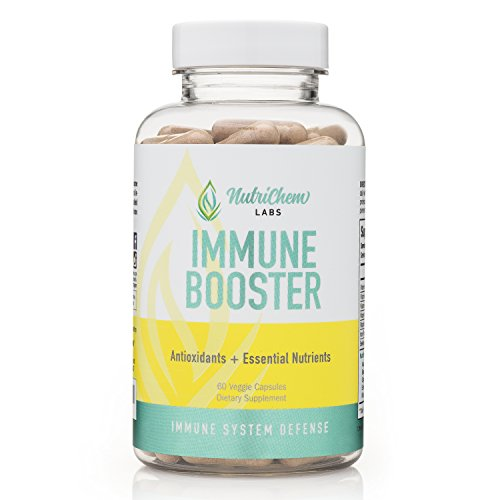 IMMUNE BOOSTER - Premium Immune System Support - Build and Strengthen Your Body's Natural Immunity Protection – 60 Vegetarian Capsules w/Bioperine®