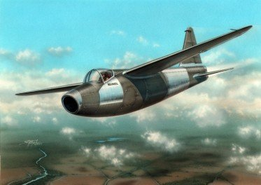 Special Hobby Heinkel HE178 V2 Jet Aircraft Model Kit (1/72 Scale)