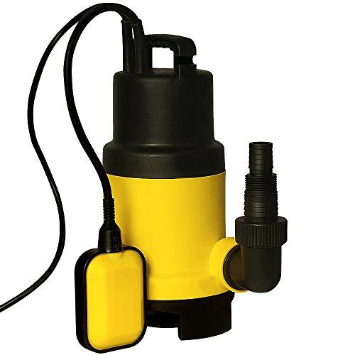 Schmutzwasserpumpe-Tauchpumpe-Pumpe-Gartenpumpe-Wasserpumpe-Zisterne-11500-LStd