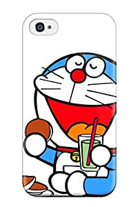All Green Corp's Shop 9778073K26160130 New Fashion Premium Tpu Case Cover For Iphone 4/4s - Doraemon