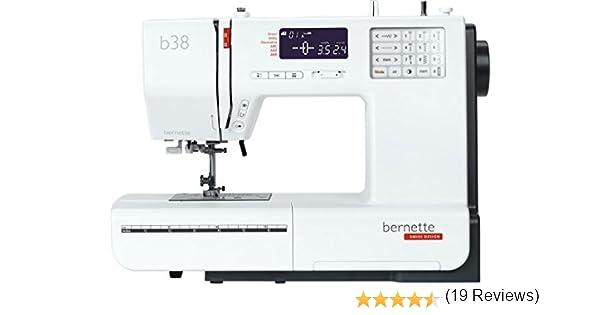 Bernette 38 Swiss Design - Máquina de coser computarizada: Amazon ...