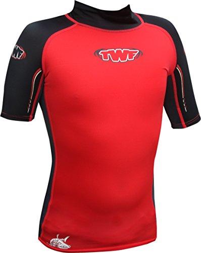 TWF Kinder Wassersporthemd, Herren, rot