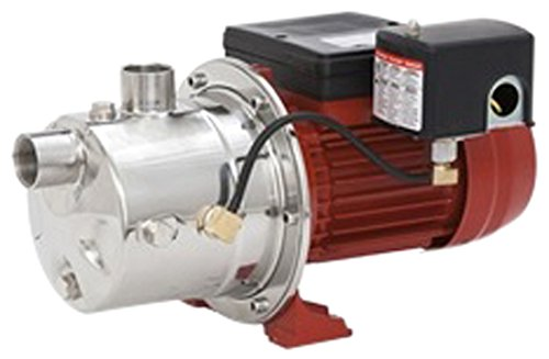 Red Lion 97080702 12 GPM 3/4 hp Stainless Steel Shallow Well Jet (Stainless Steel Jet Pump)