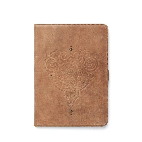 ZENUS Prestige Retro Vintage Diary Style Leather Case for iPad Air (Vintage Brown) by Zenus