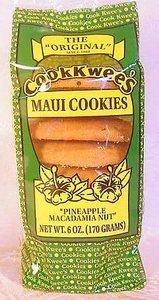 Hawaii Maui Cook Kwees Gift Basket Pineapple Macadamia Nut Cookies by DHG