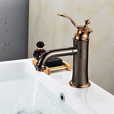 YZL Oil Rubbed Bronze Tall Single Handle Lever Bathroom Sink Vessel Faucet