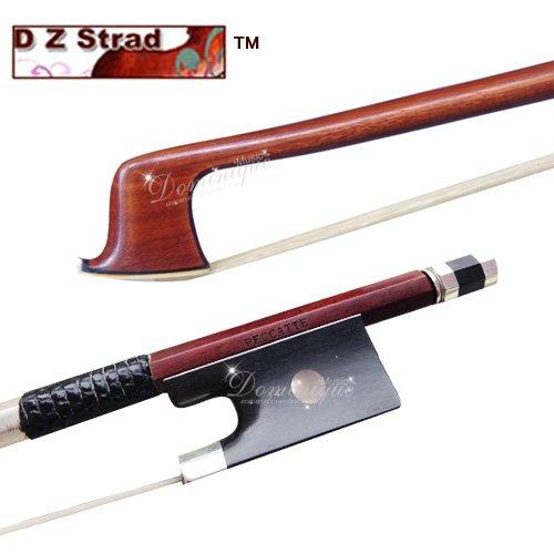 - Master Antique Pernambuco 4/4 Violin Bow D.PECCATTE Copy D Z Strad (Master Pernambuco Wood)