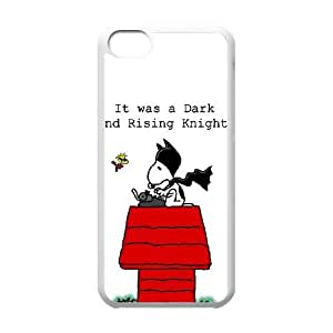 iPhone 5c Cell Phone Case White Snoopy CHA Phone Cases Fashion