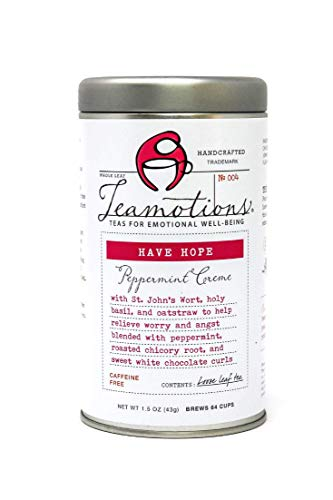 Have Hope - Peppermint Creme Tea by Teamotions Tea, 2.5oz Tin