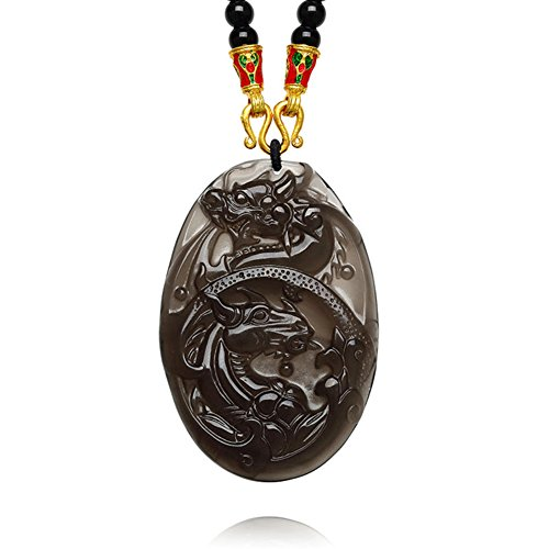 - fashion accessories/Ice types of Obsidian pendant/men and women/upon lunar new year gift