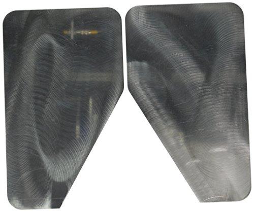 Putco 79473 Stainless Steel Mud Flap - Putco Stainless Steel Mud Flaps