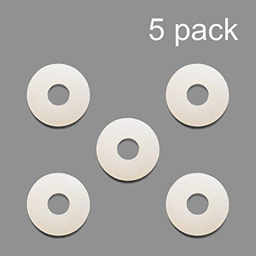 5 Pack Nylon Washer Replacement Gasket for CO2 Regulators Kegerator Draft Beer -