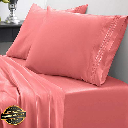 800 Thread Count Bed Sheet Set Brights Sweet Home Spring/Summer Collection | LINENIENHM-182011384 Full ()