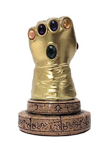 Surreal Entertainment Marvel Comics: Infinity Gauntlet Desk Monument (Infinity Gauntlet Gems)