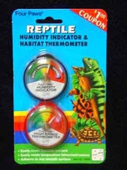 FP REPTILE HUMIDITY&THERMOMETR (Thermometer Paws Four)