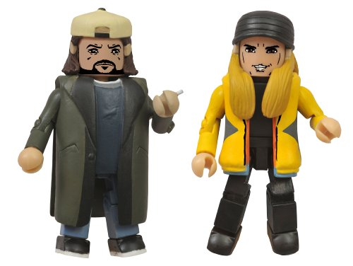 Diamond Select Toys Jay & Silent Bob Strike Back Minimates Action Figure, Pack of 2