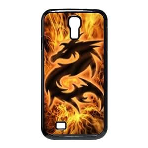HQYDIY Custom dragon Plastic Case, DIY dragon Hard Cell Phone Case for samsung galaxy s4 I9500