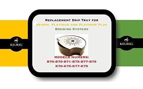 Keurig B70 (Replacement Drip Tray for Keurig B70, B71, B75, B77, B79, K70, K75, K77, K79)