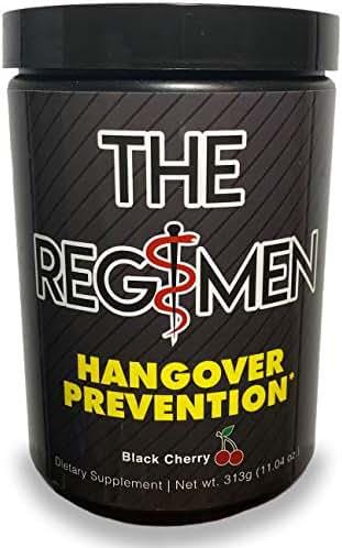 The Regimen: Hangover Prevention Powder - Dihydromyricetin (DHM), Electrolytes, B-Vitamins, Multivitamins, Antioxidants, N-Acetyl-Cysteine (NAC), GABA, Prickly Pear, ZMA, L-Glutamine