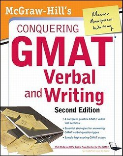 Doug Pierce: McGraw-Hills Conquering GMAT Verbal and Writing, 2nd Edition (Paperback - Revised Ed.); 2012 Edition