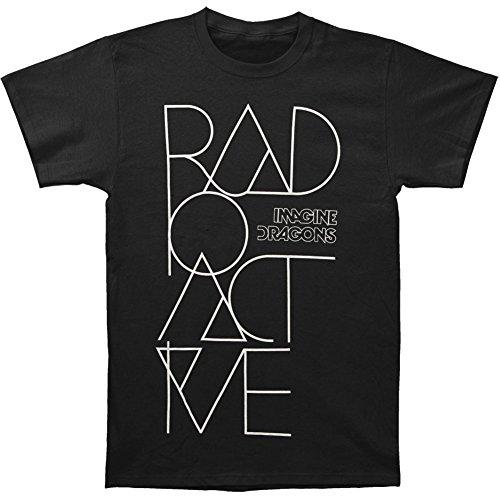 Imagine Dragons Radioactive Text T-shirt