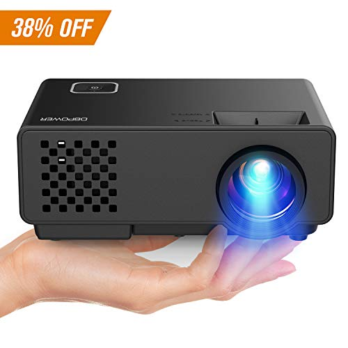 Native Resolution Tft (DBPOWER Projector - Mini Portable Video Projector 176