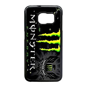 Samsung Galaxy S6 Edge Cell Phone Case Black Monster Energy QY8514101