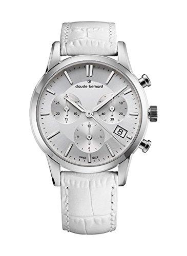 Claude Bernard Ladies-Wristwatch Jolie Classique Chronograph Date Analog Quartz 10231 3 AIN