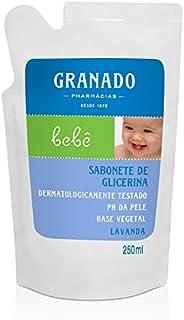 Refil Sabonete Glicerina Bebê Lavanda, Granado, Lilás, 250Ml