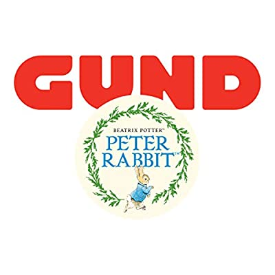 GUND Medium Lying Peter Rabbit Plush Toy: Toys & Games