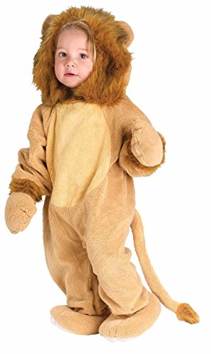 Infant Toddler's Cuddly Lion Halloween Costume