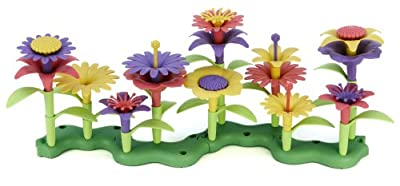 Green Toys Build-a-bouquet Floral Arrangement Playset from Green Toys