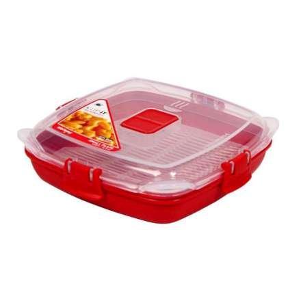 Sistema tamaño pequeño para platos de microondas - 440 ml, rojo ...
