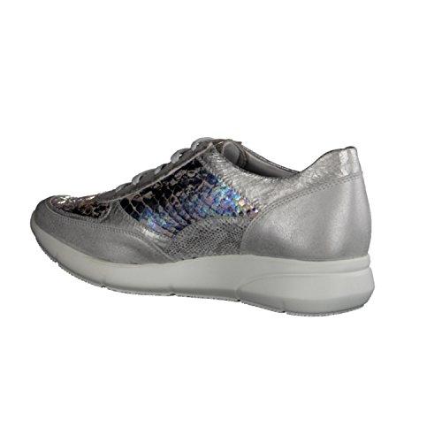Mephisto Diane- Damenschuhe Sneaker, Grau, leder